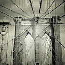 Image of The Brooklyn Bridge's Arch and Cables