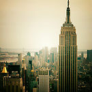 Image of Empire State Building New York Cityscape